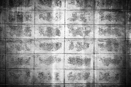 hinder: Black and white mortar block wall pattern, Backgrounds