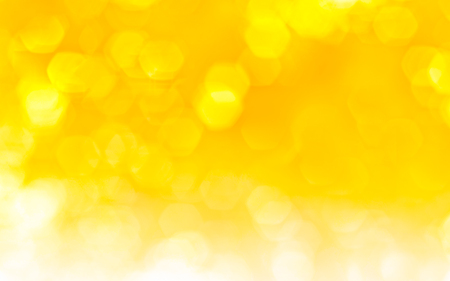 shiny background: Beautiful abstract background in yellow Stock Photo