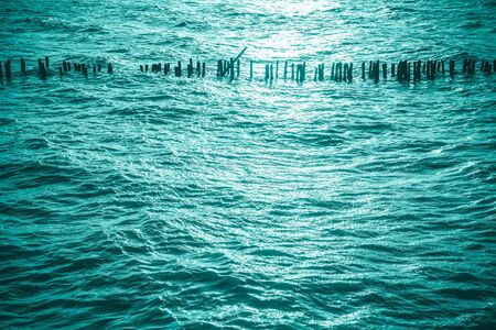 Blue water surface pattern, Backgrounds