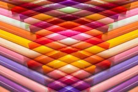 Colorful magic pens, Multicolored Pens draw line