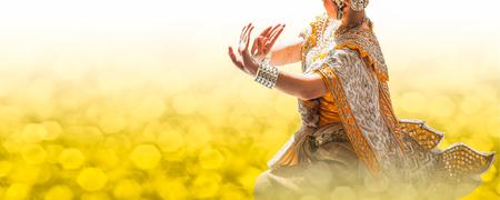 ラーマーヤナのナン Suphanna 抹茶 写真素材