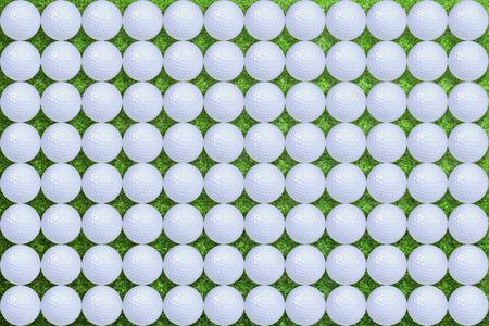 Golf balls pattern