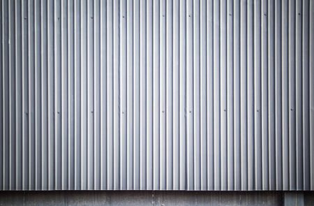 Gray corrugated metal sheet wall, Backgrounds