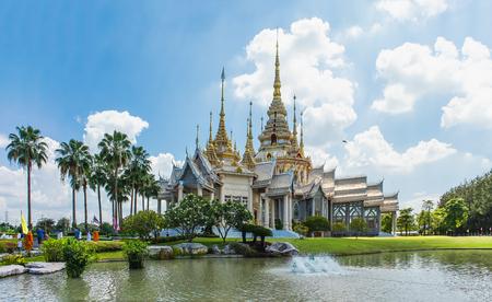 Wat Nong Kum in natural light, Mittraphap Road, Sikhiu, Nakhon Ratchasima, Thailand, May 20, 2018 Editöryel