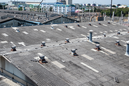 Factory roof ventilation fan system, Backgrounds
