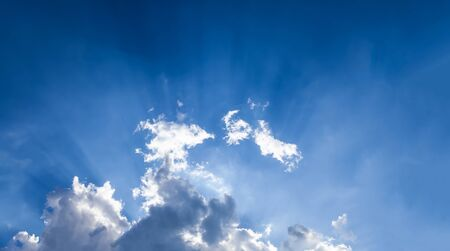 Beautiful clouds and bluesky in natural light, backgrounds