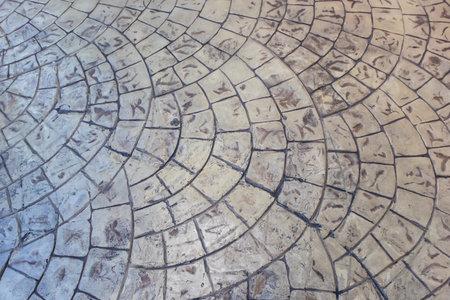 Pavement decorative tile surface background, Design and texture concept pattern