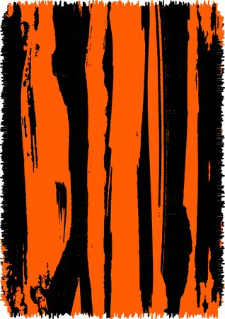 Abstract grunge tiger print background photo