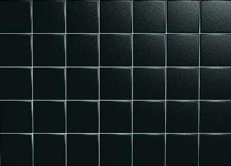 r�p�titif: Black carreaux de c�ramique Banque d'images