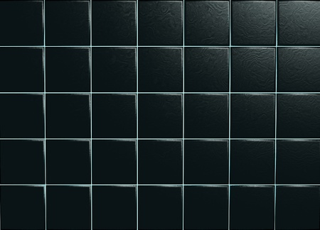 Black ceramic tiles Stock Photo - 11808260