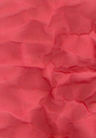 Crushed red cardboard photo
