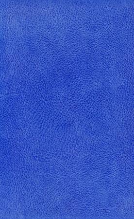 cracklier: Grunge blue leather background textured with deep graining patterns