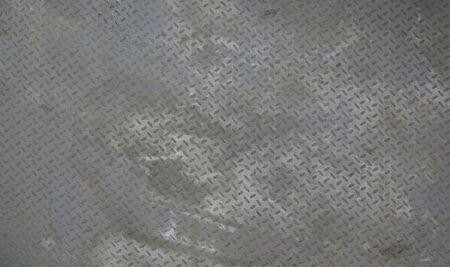 grunge diamond plate steel background                photo