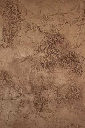 Faux painted and textured stucco wall photo