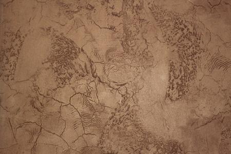 faux: Faux parete in stucco dipinto e strutturato