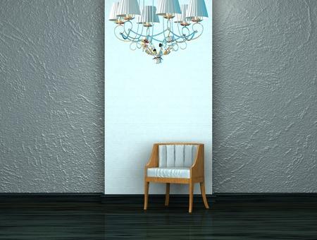 Beautiful pattern of the interior Stock Photo