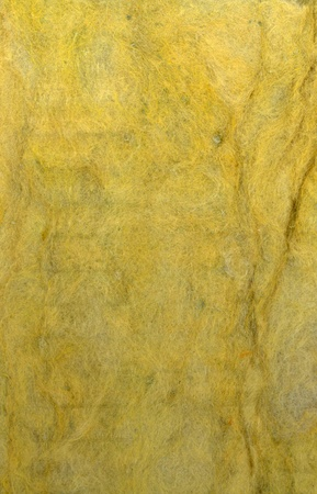 rock wool: Thermal insulation material  texture Stock Photo
