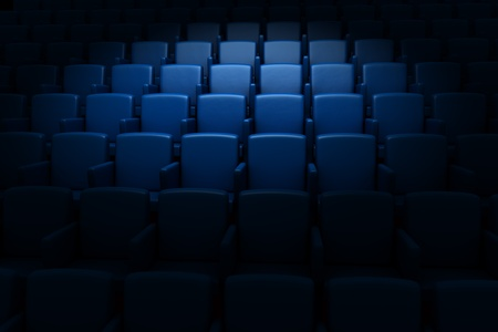 Empty cinema auditorium  Stock Photo - 12876204