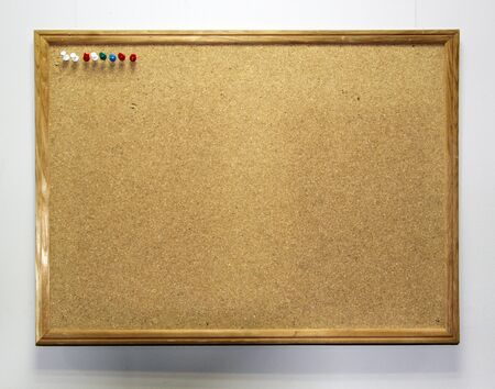 affix: Reminder wooden board on the wall