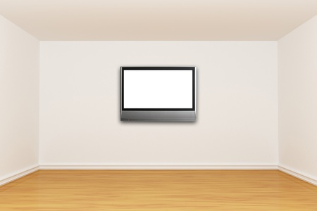 3d render empty room Stock Photo - 13002324