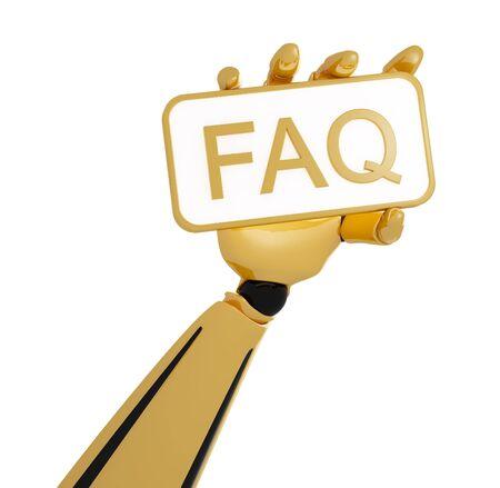 FAQ sign Stock Photo - 13002270