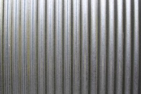 corrugation: metal fence background