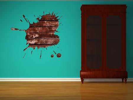 Cupboard in minimalist inter Stock Photo - 13101146