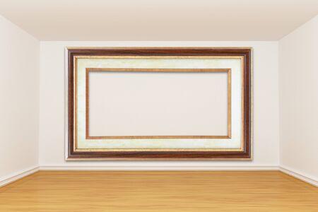 3d render empty room Stock Photo - 13172040
