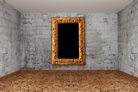 Grunge empty room Stock Photo - 13317810