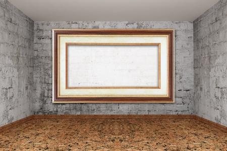 Grunge empty room Stock Photo - 13354978