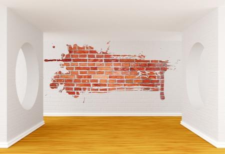 orifice: Empty gallerys hall