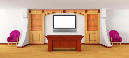 Modern reception photo