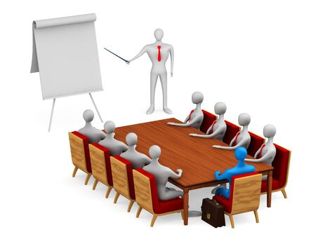 board room: Group of persons on the meeting