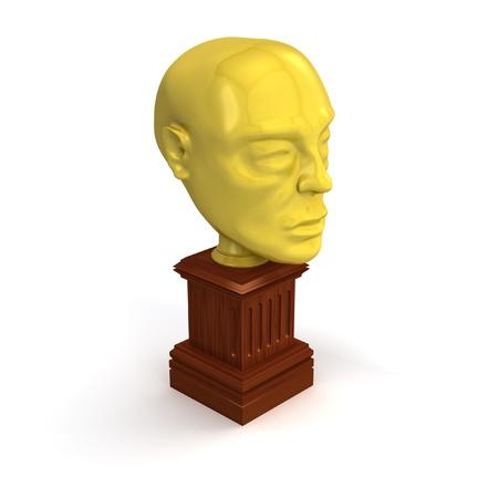 Gouden award hoofd ge