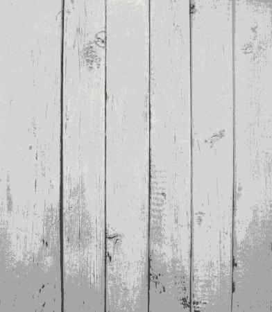 provexemplar: Grå målade träplankor Illustration