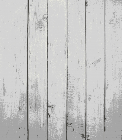 wood grain texture: Grey painted wooden planks Illustration