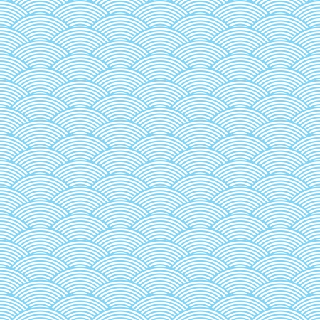 seamless waves abstract pattern Stock Vector - 20072051