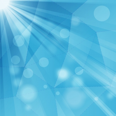 Abstract geometrical background with rays Illustration