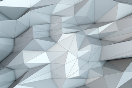abstract triangular crystalline background photo