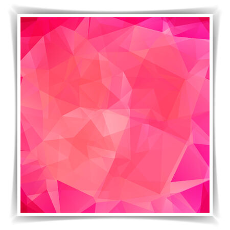 abstract pink: Abstract Pink Triangle Polygonal