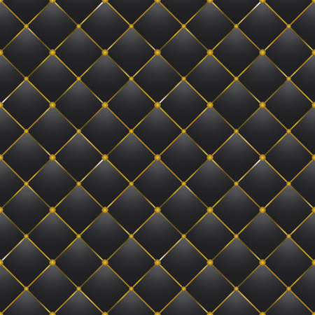 tufted: button-tufted black leather background