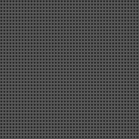 holed: Metal grid seamless pattern vector background
