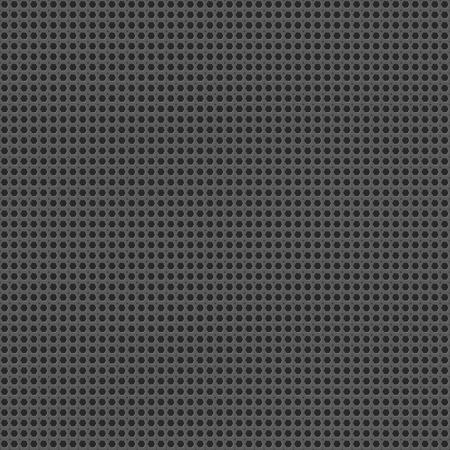 Metal grid seamless pattern vector background