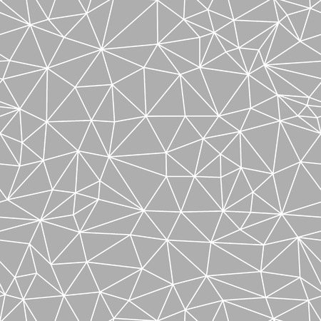 Seamless mesh geometric pattern. Vector abstract background