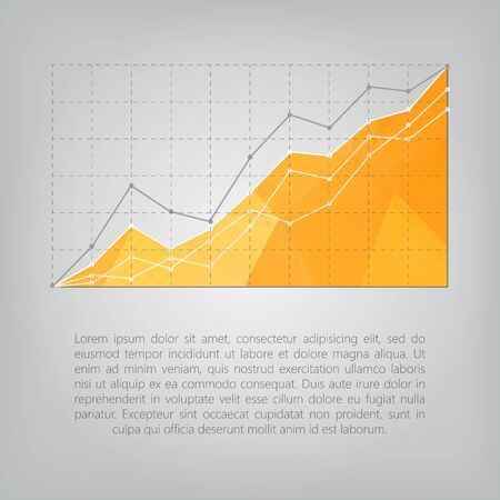 statistics: business statistics chart showing various visualization graphs