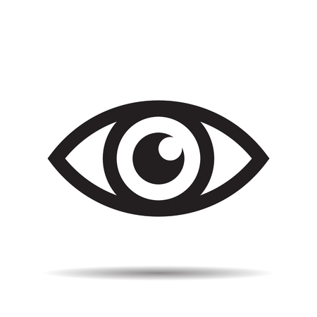 Eye icon - vector illustration Illustration