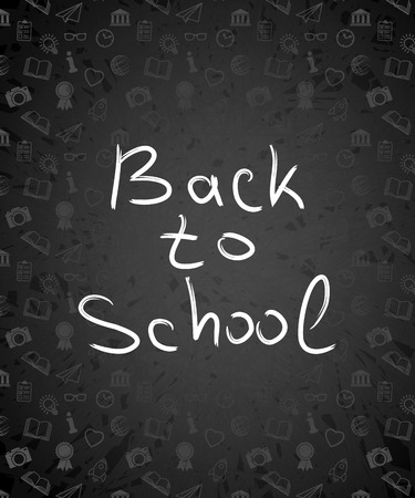 first class: Back to school background, vector illustration. Back to school design elements, vector illustration Illustration