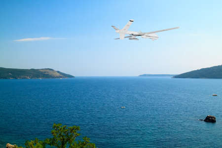 breathtaking spectacular view of the Boka-Kotorska bay from the fortress Herceg Novi, Montenegro