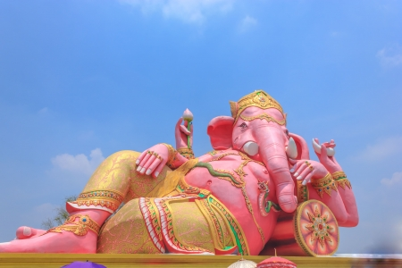 Ganesh  was god of knowledge  As the wise is superb  photo