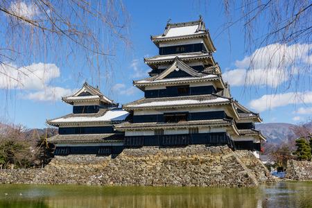 matsumoto: Matsumoto castle in winter